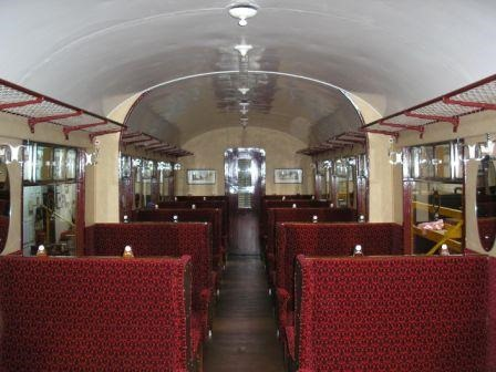 Richard Hill 14/09/2016. Interior following overhaul and upgrade