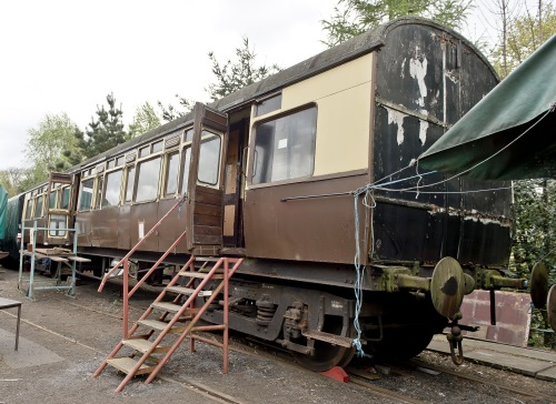 GWR 2426 Corridor Third (later Camping Coach) built 1910