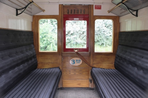 Paul Abell 07/08/2016. Interior view of compartment