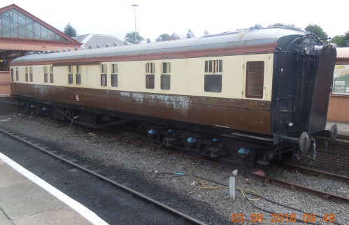 GWR 9084 Hawksworth First Sleeper built 1951