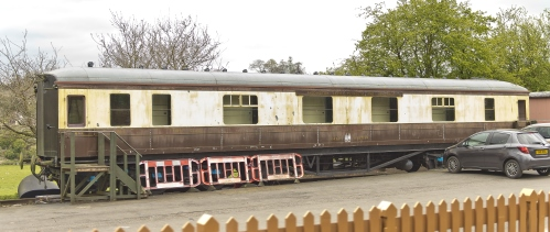GWR 9085 Hawksworth First Sleeper built 1951