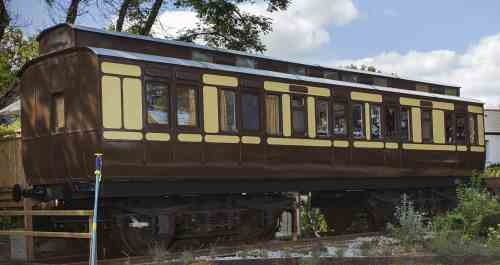 GWR 1091 Dean Clerestory Slip Tricomposite (body only) built 1897
