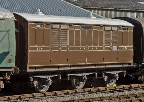 LBSCR 270 Perishable traffic van ('Grande Vitesse Traffic') built 1908