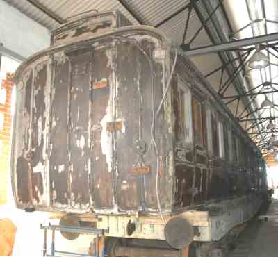 GCR 1663 Clerestory Composite Brake Lavatory (body only) built 1903