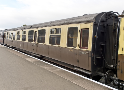 GWR 1086 Collett Corridor Third built 1938